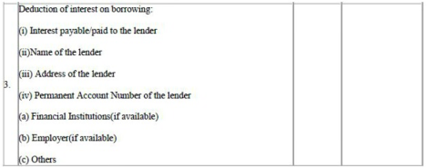 Form 12BB (for all salaried employees to claim tax